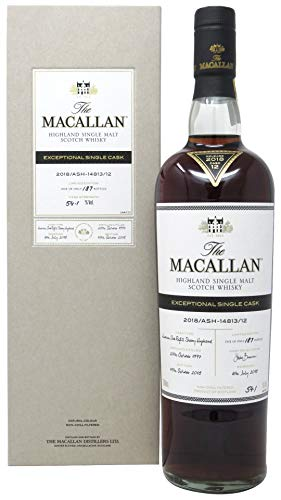 Macallan - Exceptional Single Cask #14813 - No.12-1997 20 year old Whisky