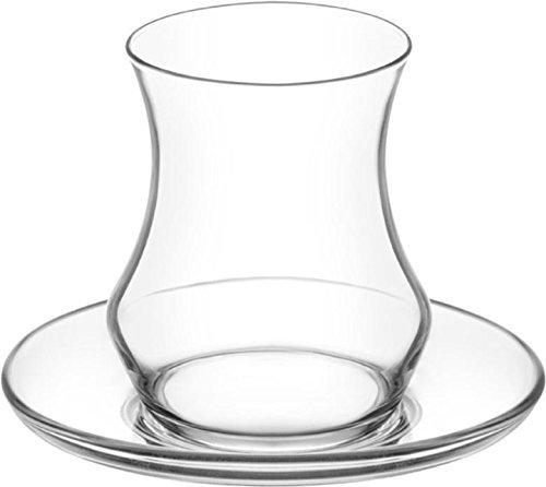 Eda 12 tlg. LAV Gläser Teeglas Türkische Teegläser Teegläserset Cay Bardagi Seti Tee Arabisch Orient