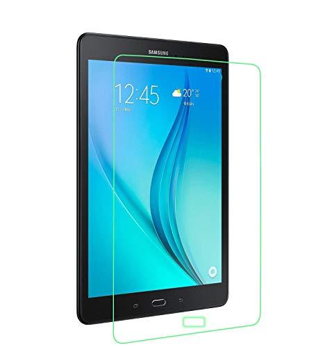 munddy- Funda GIRATORIA 360º con Soporte para Samsung Galaxy Tab,rotable 360° (Protector Cristal Templado Opcional) … (Tab A 9.7 T550 T555 T554, Solo 1 Protector)