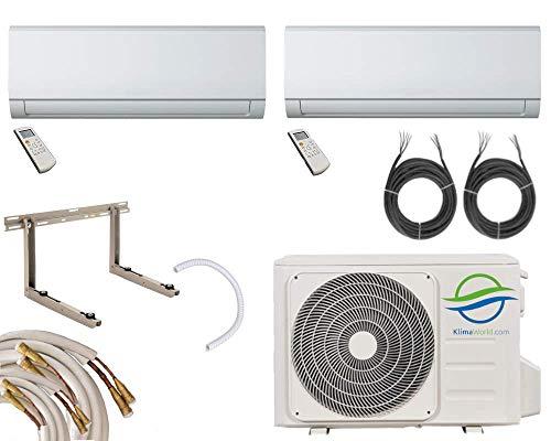 Klimaworld Nexa S4M29 Multisplit Climatizzazione 2x2, 6kW 5m Quick-Connect