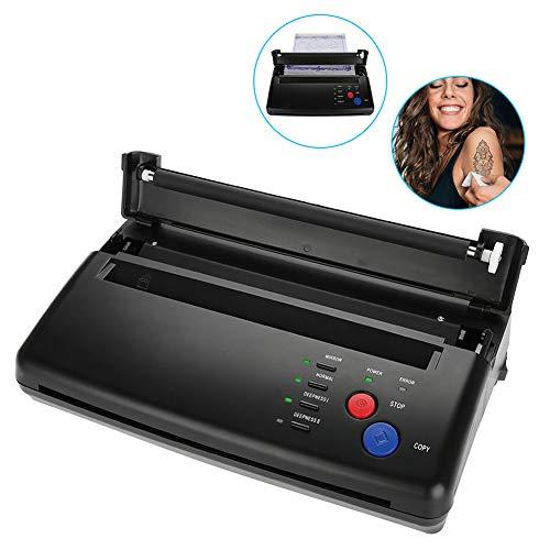 Tatuaggio trasferimento fotocopiatrice macchina,attrezzo per tatuaggio professionale design per tatuaggi tatuaggio per macchina da stampa modello A5-A4 fotocopiatrice per stampante di carta(EU)