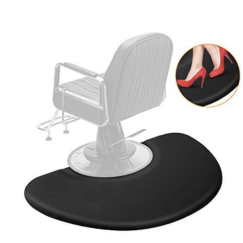3 ft. x 5 ft. Salon Anti Fatigue Mat for Hair Stylist,Salon Barber Chair Barber Stations Floor Mat,Non Slip,Waterproof,High-Heel Proof,1/2 inch Thick (1)