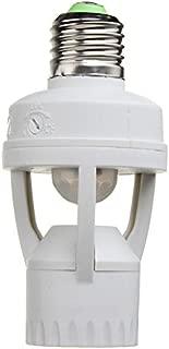SCSY-Bombillas Sensor de Movimiento de inducción PIR IR infrarrojo Humano E27 Plug Socket Switch Base Led lámpara de la Bombilla Holder
