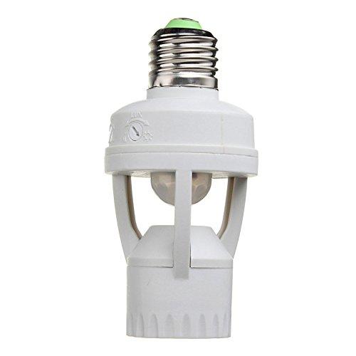 Lampfitting van maïs, E27, PIR, inductie, bewegingssensor, infrarood, mensen, stopcontact, sokkel LED, lamphouder