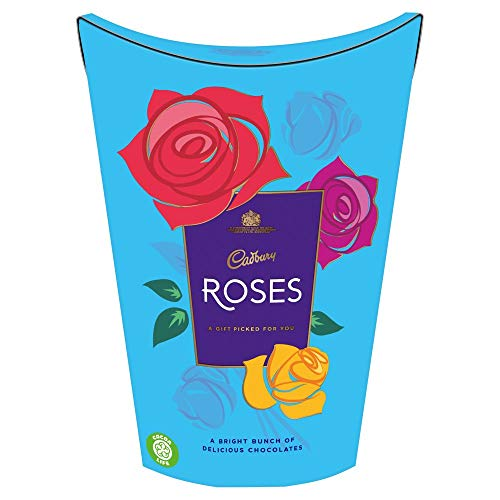 Cadbury Roses Carton 186g (Pack of 2)