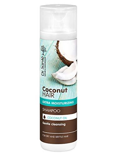 Dr. Sante Champú hidratante extra con aceite de coco para cabello seco y quebradizo, 250 ml