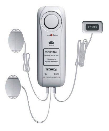 Techko S187D Alarme de Piscine Upgrade Version