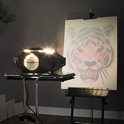Artograph Super Prism Opaque Art Projector with 2 Lenses for Image Reduction and Enlargement (Not Digital)