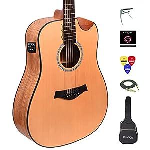 Kadence Slowhand Premium Semi Acoustic Guitar 3