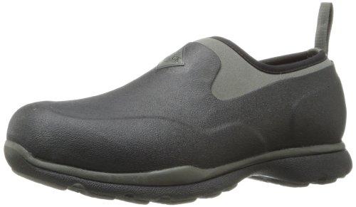 Muck Boots Herren Excursion Pro Low Gummistiefel, Schwarz (Black/Gunmetal), 43 EU