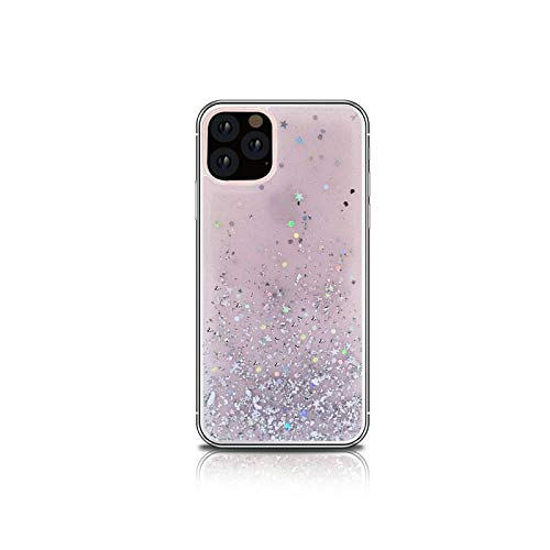 Bling Dimaond - Funda protectora para iPhone 12 Mini 11 Pro Max XR XS Max X 8 7 6 6S Plus se 2020, transparente para iPhone 11 Pink no Wristband-for iPhone 7 Plus