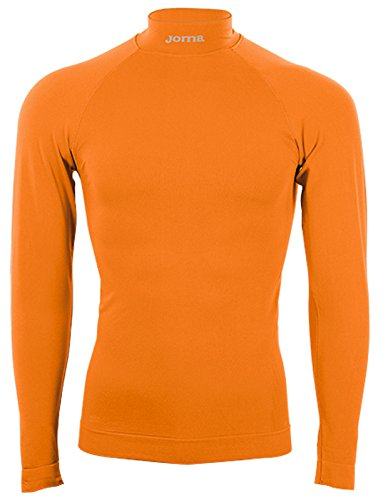 Joma Brama Classic Camiseta térmica Unisex, Naranja, S-M