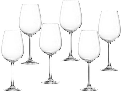 Ritzenhoff & Breker Rojo Vino Cristal Juego de Samba, de 6Piezas, Capacidad...