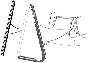 DENNIS CARPENTER FORD RESTORATION PARTS 1961 1962 1963 1964 1965 1966 Pickup Truck Back Edge of Vent Window Seals - Compatible with Ford