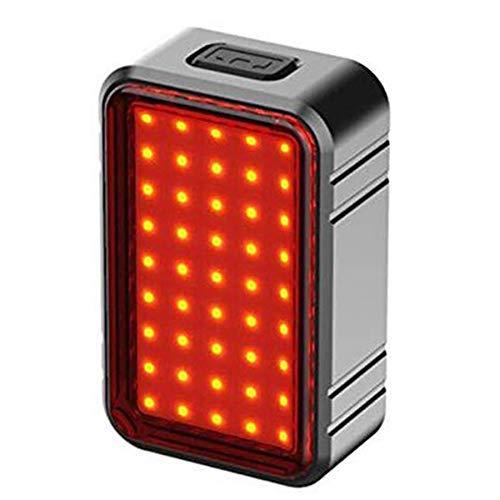 YHtech Inteligente luz de la Bicicleta del Montar a Caballo de la Bici de la lámpara luz de la Cola de Carga USB Bicicleta de la luz Trasera con luz de Advertencia de Frenos Accesorios