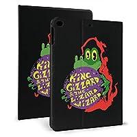 Ipad7.9ケース King Gizzard And Lizard Wizard Ipad9.7ケース 高級感 ソフトpuレザー 保護ケースカバー 耐衝撃 オートスリープ スタンド機能付き 全面保護 合成皮革 折り畳み