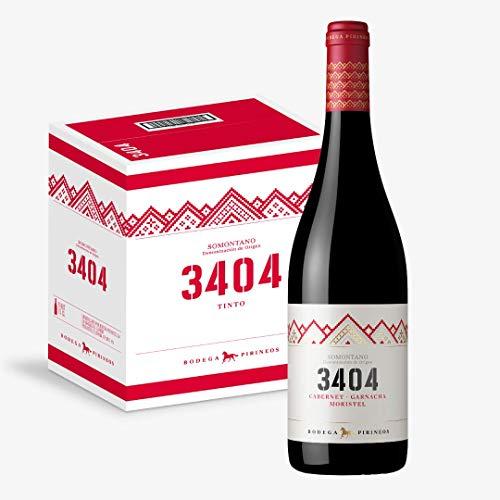 3404 Vino Tinto - Caja de 6 bot. de 75 cl.