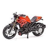 El Maquetas Coche Motocross Fantastico 1︰18 para Ducati 1199 Panigale Simulación Miniatura Aleación Modelo De Moto Juguete Colección De Regalos Decoración Expresión De Amor (Color : 5)