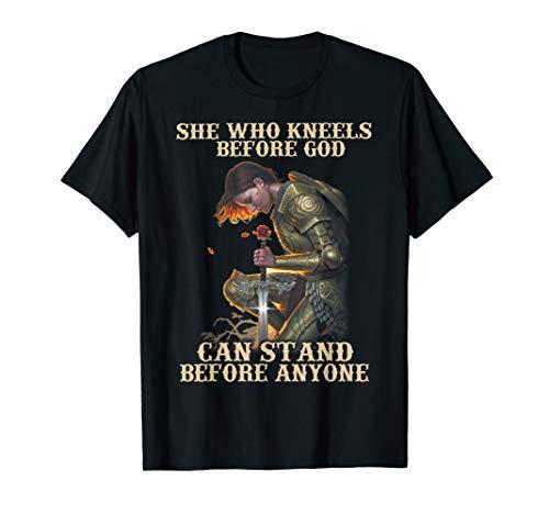 She who Kneels Before God Tshirt