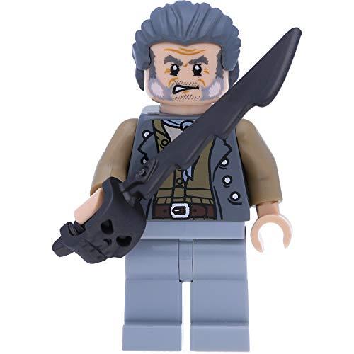 LEGO Pirates of The Caribbean Minifigur: Erster Maat Joshamee Gibbs (Fluch der Karibik)