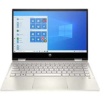 2020 HP Pavilion x360 14″ FHD WLED Touchscreen 2-in-1 Convertible Laptop, Intel Core i5-1035G1 up to 3.6GHz, 8GB DDR4, 256GB SSD, 802.11ac, Bluetooth, Webcam, HDMI, Fingerprint Reader, Windows 10