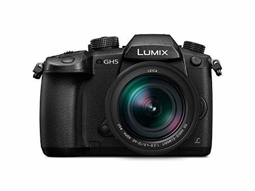 Panasonic Lumix DC-GH5LEC-K Fotokamera (20,3 MP, 6K 30fps, 4K 60fps, Leica-Objektiv von 12-60 mm F2.8-4.0 (EQ. 24-120 mm)) Schwarz