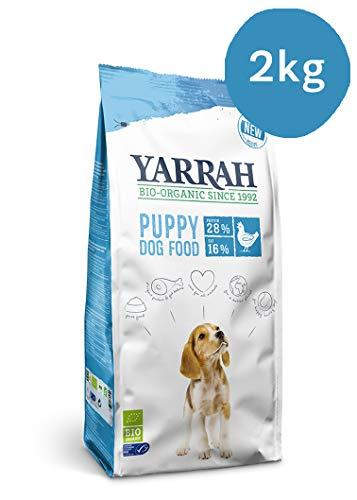 2 KG Yarrah dog biologische brokken puppy kip hondenvoer