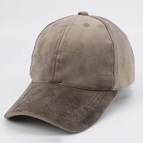 Gbksmm Unisex Wildleder Baseball Cap Männer Frauen Casual Caps Solid Trucker Hat-Gary