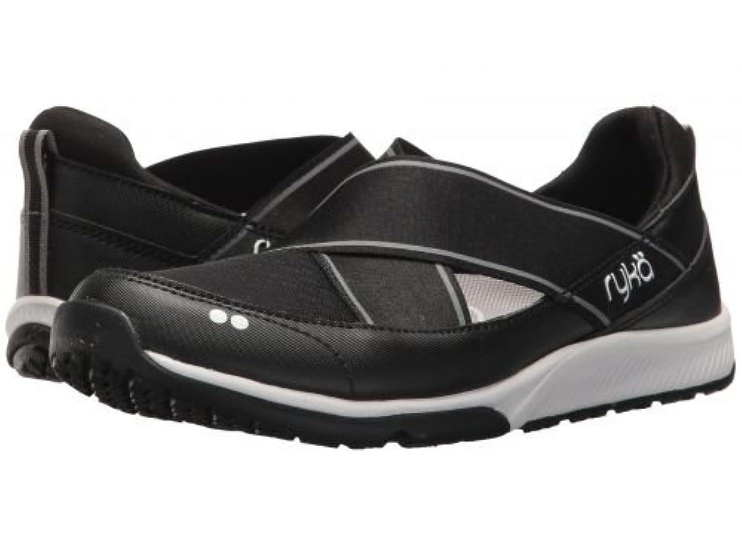 宣教師ヒゲクジラふさわしいRyka(ライカ) レディース 女性用 シューズ 靴 スニーカー 運動靴 Klick - Black/White [並行輸入品]