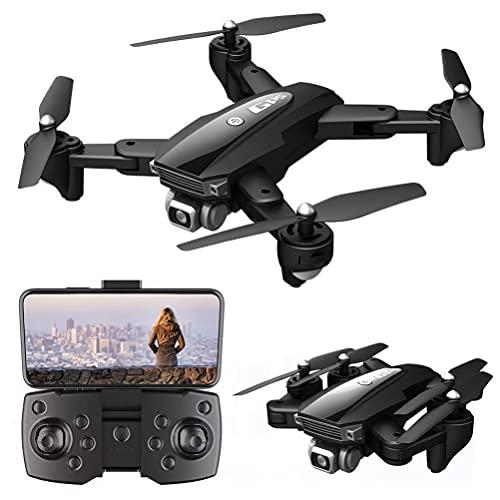 Drone 6K con videocamera HD per adulti, Drone GPS 3000M distanza del telecomando, 5G WIFI FPV Live Video, Drone GPS pieghevole con ritorno automatico a casa, 1800M distanza trasmissione delle immagi