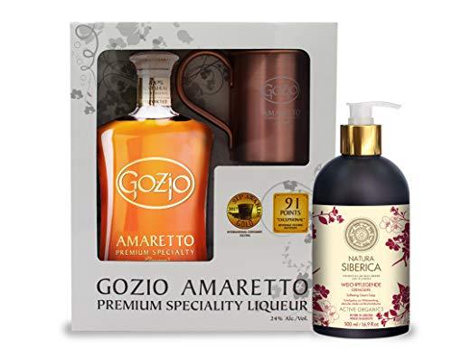 Geschenkset Gozio Amaretto Natura Siberica Weichpflegende Seife