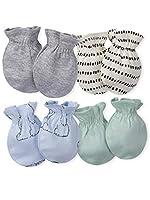 Gerber Baby Boys' 4-Pair Mittens by Gerber Children's Apparel