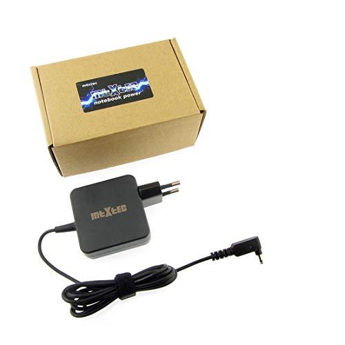 Netzteil, 19V, 2.37A, Stecker rund 3.0x1.1mm (45W - EU) hochwertiger MTXtec Ersatz für Asus Zenbook UX21 UX21E UX31E Asus Transformer Book T200TA T200T, ADP-45AW und baugleiche