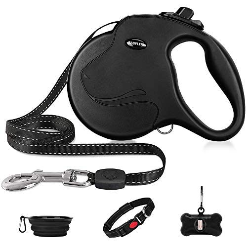 Babyltrl Upgraded Retractable Dog Leash, 360° Tangle-Free Heavy Duty Dog Retractable...