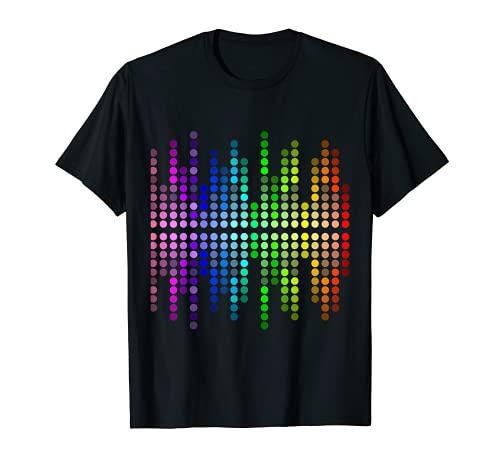 10-Kanal-Equalizer Dj Mischpult audio und Musik Fans T-Shirt