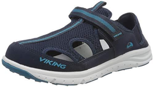 viking Unisex-Kinder Nesoeya Geschlossene Sandalen, Blau (Navy 5), 36 EU