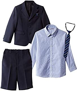 [nissen(ニッセン)] ゆったりサイズ 卒園式 入学式 七五三 フォーマル スーツ 3点セット 男の子 子供服 キッズ 男の子 セット組