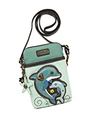 CONVENIENT, COMPACT, FUN. Front pocket adorned with our unique CHALA character. Crossbody phone purse design with superior soft PU leather textured, which is durable and nice. Beautiful Lining Material to avoid friction to the phone and causing any d...