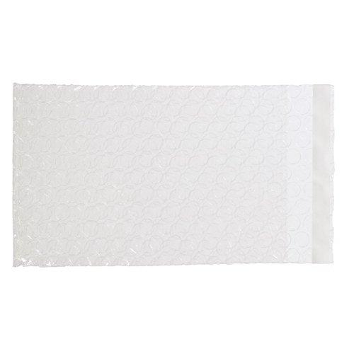XSY Transparente Luftpolsterbeutel Selbstklebend Luftpolsterfolienbeutel Verpackt Polsterbeutel Schutzbeutel Plastik Taschen Verschiedene Größen 80 x 150mm+20mm - 10 Stück