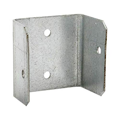 40, 38mm Galvanised Fence/Trellis Panel Bracket Clips