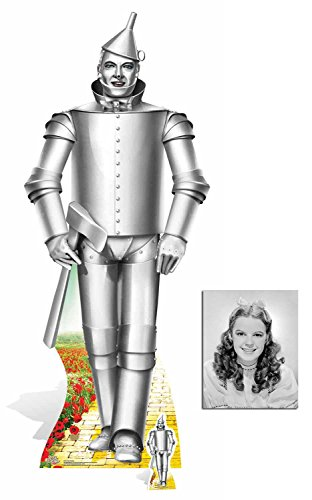 Fan Pack - Tin Man Wizard of Oz Lifesize and Mini Cardboard Cutout/Standee/Standup - Includes 8x10 Star Photo