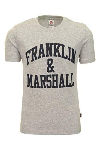Camiseta de Franklin y Marshall con logo F y M, color azul marino
