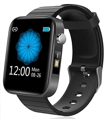 YGMDSL Reloj Inteligente Smart Sports Watch Activity Fitness Tracker Wristwatch Men 1.54 Pulgadas Pantalla Pantalla Corazón Presión Arterial Smartwatch Sport IP67 Reloj Impermeable