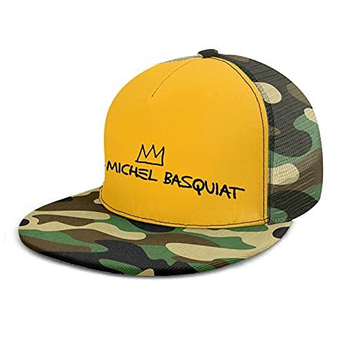 maichengxuan Gorra de béisbol unisex de Jean Michel Basquiat para hombre