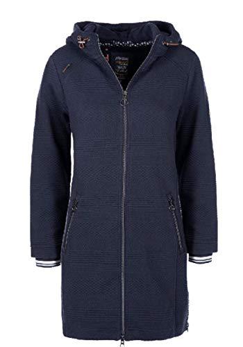 soquesto Damen Sweatjacke Größe 36 EU Blau (blau)