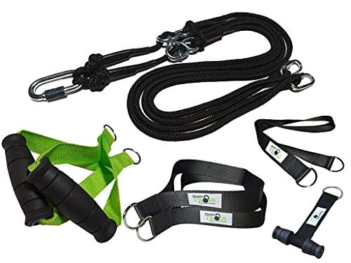 BodyCROSS Premium Schlingentrainer für zuhause mit...