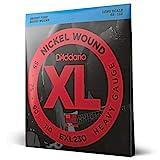 D'Addario EXL230 - Juego de cuerdas para bajo eléctrico de níquel, plateado,...