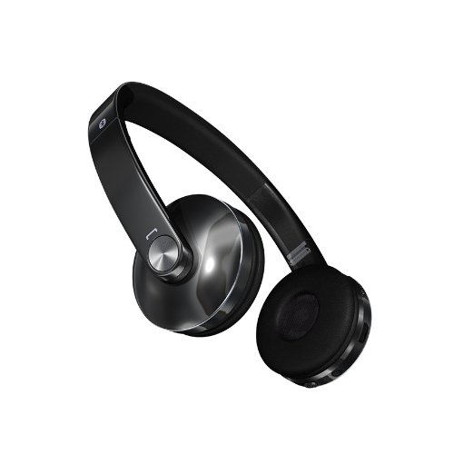 LG Electronics Gruve Bluetooth Stereo Headset - Retail Packaging - Black
