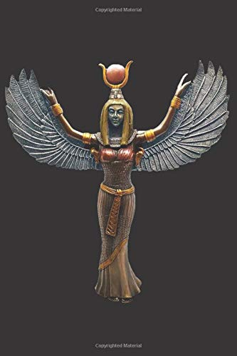 Goddess Isis Statue: Blank Lined Notebook, Journal or Diary