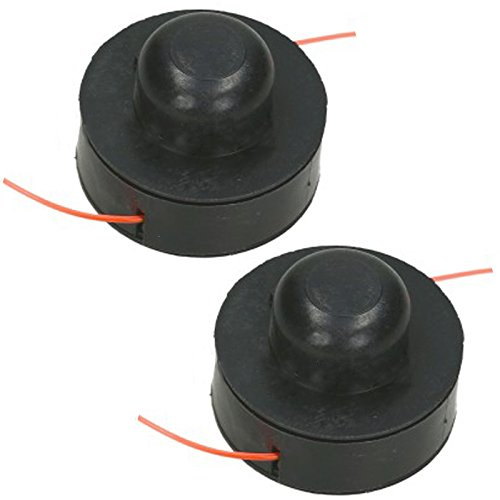 Spares2go Spool & Line for Challenge Grass Strimmer/Trimmer (Pack of 2)